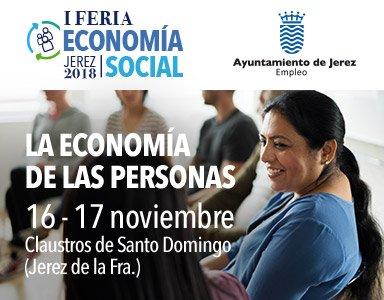 Noticia I Feria de Economía Social Jerez 2018. Días 16 y 17 noviembre 2018.