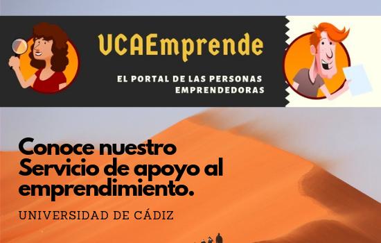Conoce el Servicio de apoyo al emprendimiento de la Universidad de Cádiz